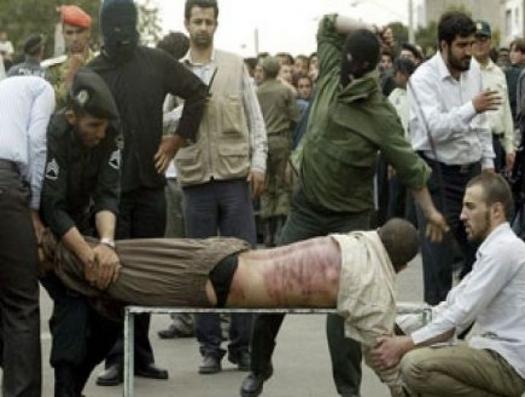 Азербайджанского активиста избили плетью за антиармянскую акцию в Иране