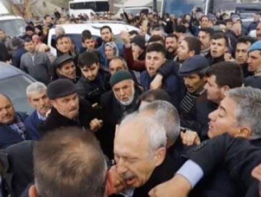 Нападение на Кемаля Кылычдароглу в Анкаре