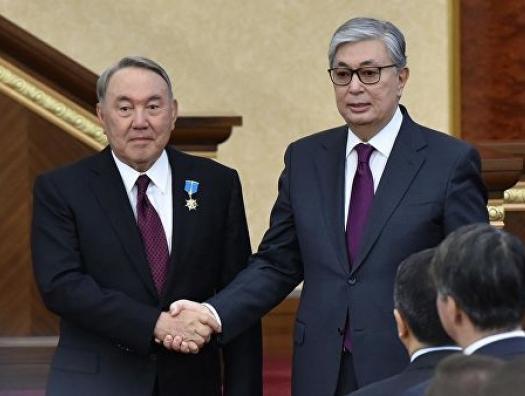 Назарбаев выдвинул Токаева кандидатом в президенты