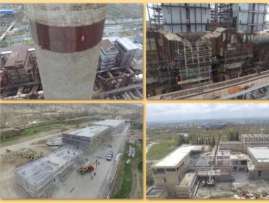 Реконструируется ТЭС «Азербайджан», на которой произошла авария прошлым летом