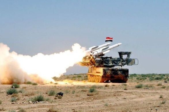 Новые удары поДамаску: система ПВО отразила атаку