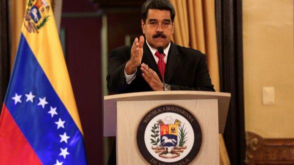 Мадуро предложил провести досрочные выборы внациональную ассамблею, которую внастоящее время контролирует оппозиция