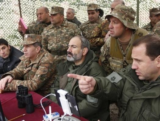 Пашинян уединился с силовиками и обсуждает войну в Карабахе