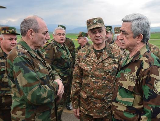 Пашинян расследует причины поражения в апрельской войне