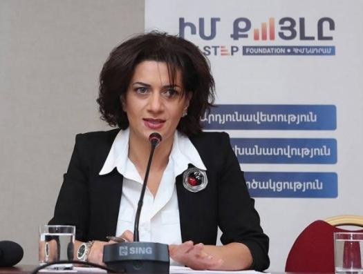 Азербайджанский журналист загнал в тупик жену Пашиняна