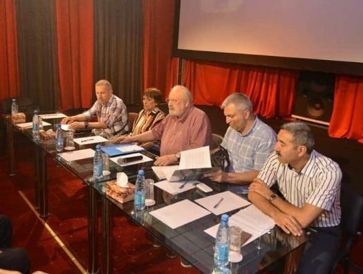 Рустам Ибрагимбеков снова в Баку проводит заседание