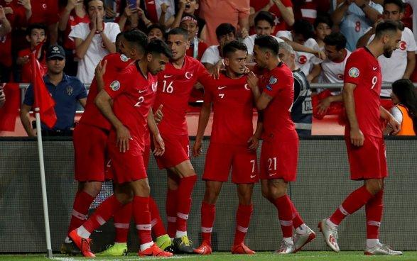 Франция на выезде уступила Турции. Футбол - Чемпионат Европы - Euro-2020.