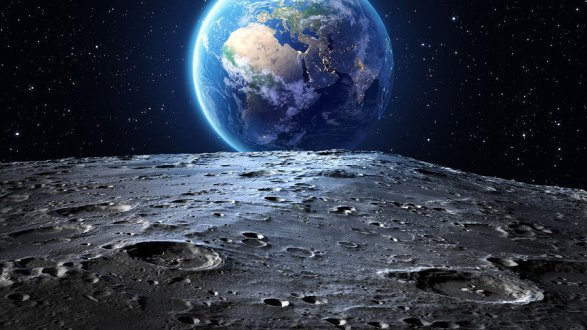 Под лунным кратером обнаружено неизвестное вещество | Korrespondent.net