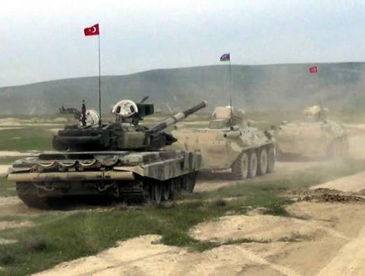 Турецкие и азербайджанские солдаты отбили атаку и разгромили противника в Нахчыване