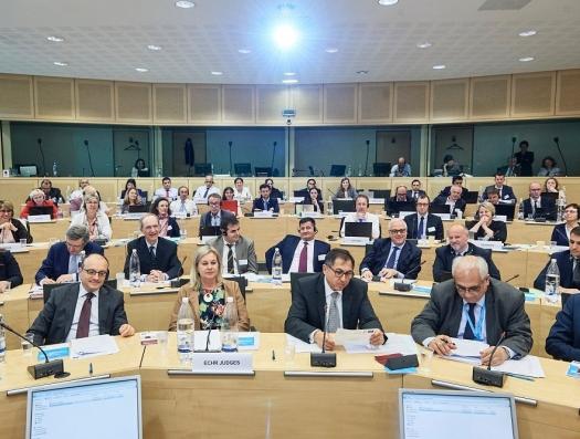 Совместное заседание Евросуда под председательством азербайджанца