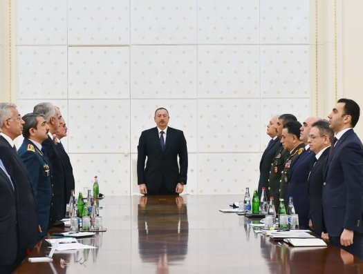 Президент сказал: Усубов, Эйвазов, Нагиев, Гулиев…