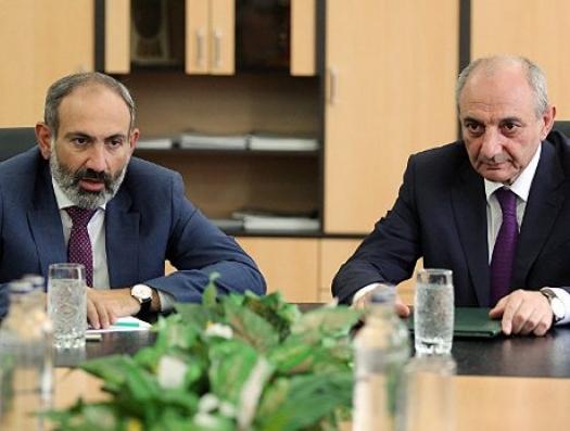 Карабах Пашиняну: «Давай, до свидания!»