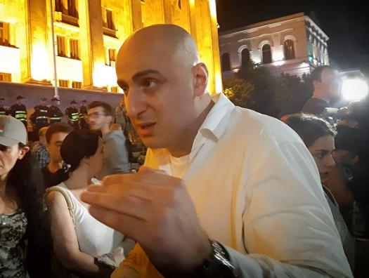 Соратника Саакашвили обвинили в организации массовых беспорядков в Тбилиси