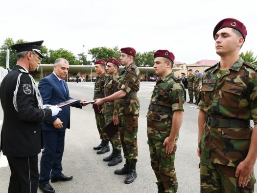 Гейдар Алиев отслужил и возвращается домой