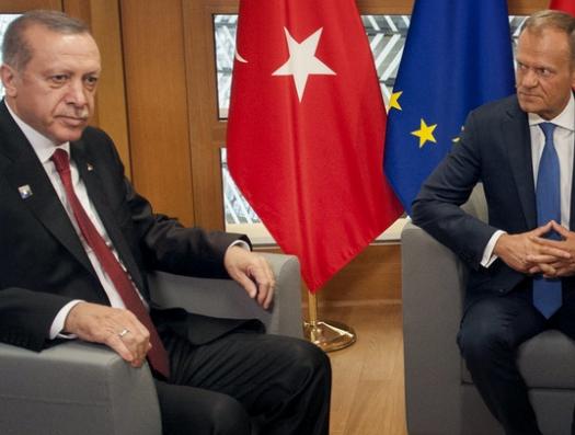 Турция и Евросоюз начали битву за Средиземноморье