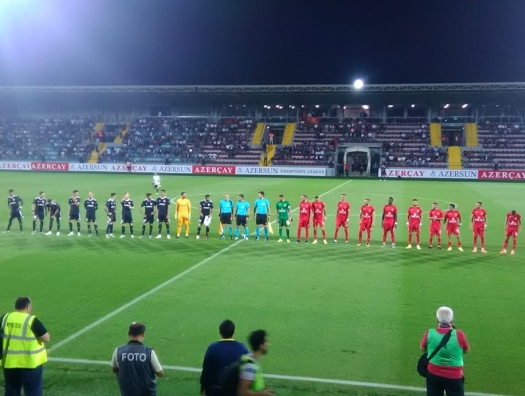 «Карабах» вышел во 2-й раунд Лиги чемпионов и отправляется в Ирландию