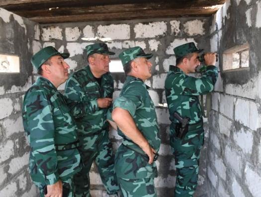 Перестрелка на границе Азербайджана с Арменией