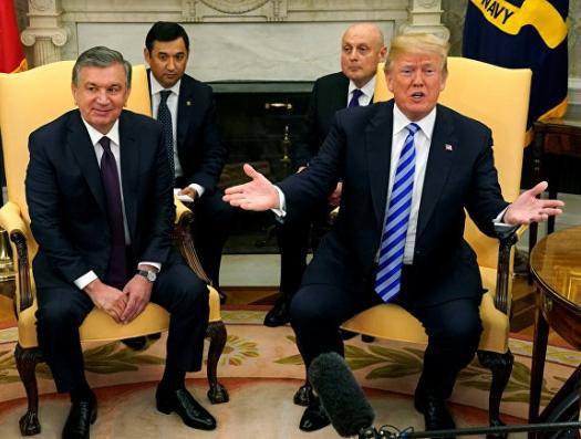 А в Узбекистане ждут Трампа...