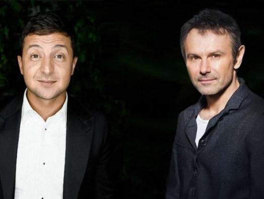 Политики-неполитики Украины: после комика на сцене появился и певец