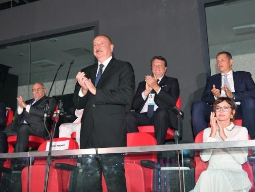 Ильхам Алиев объявил Еврофестиваль в Баку открытым