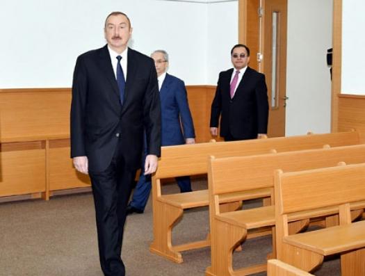 Ильхам Алиев о букве и духе закона