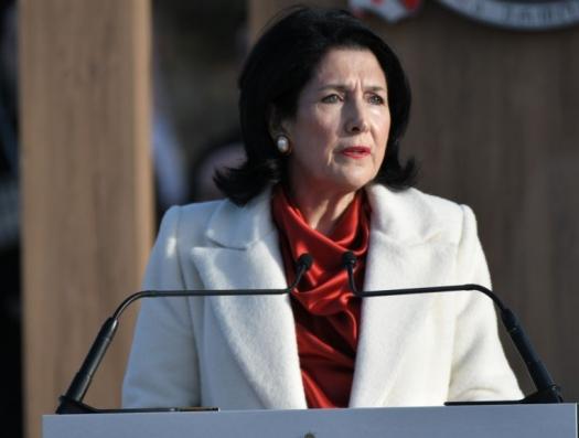 Президент Грузии прокомментировала ситуацию вокруг Кешикчидаг