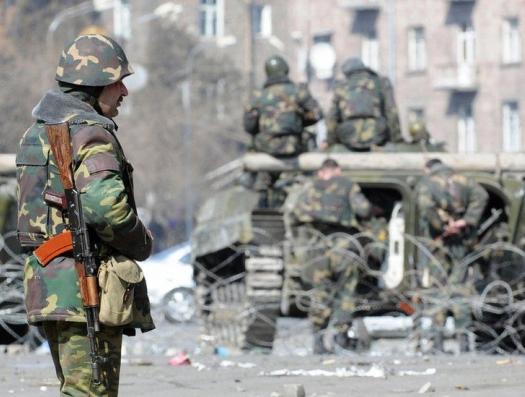 Огонь по демонстрантам открыли карабахские силовики
