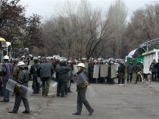 В Киргизии опять что-то готовится