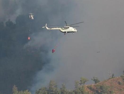 Кямаледдин Гейдаров бросил все силы на подавление пожаров