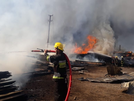Наконец, пожар в Дарнагюле потушили