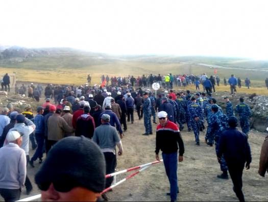 В Киргизии обещают погромы