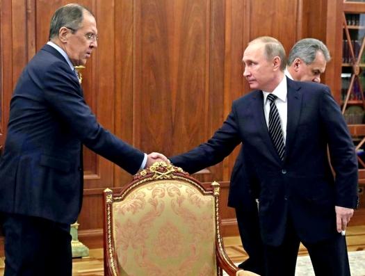 Лавров в Москве объявил мир в Сирии, а Путин в Дагестане говорит о войне