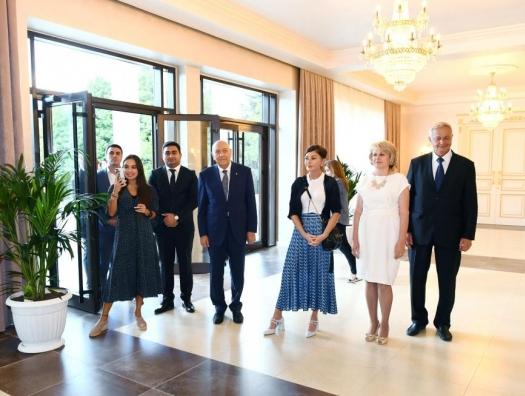 Мехрибан Алиева посетила Ивановку