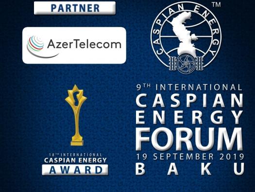 AzerTelecom поддерживает Caspian Energy Forum Baku-2019 в качестве партнера