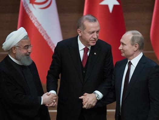 Путин, Эрдоган и Роухани не смогли разделить Сирию, которой нет