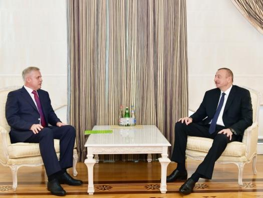 Глава Совбеза Беларуси на переговорах с Ильхамом Алиевым