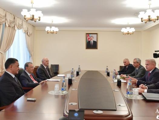 Мехтиев, Усубов и Алескеров начали переговоры с будущим генсеком ОДКБ