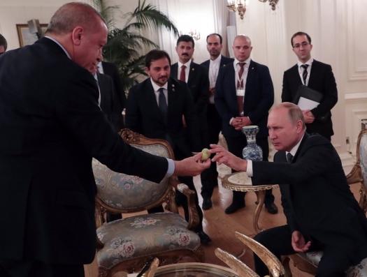 Путин торопит Эрдогана