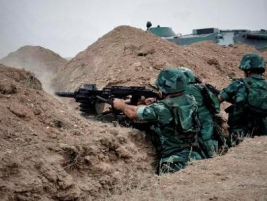 Армяне открыли огонь по азербайджанским пограничникам