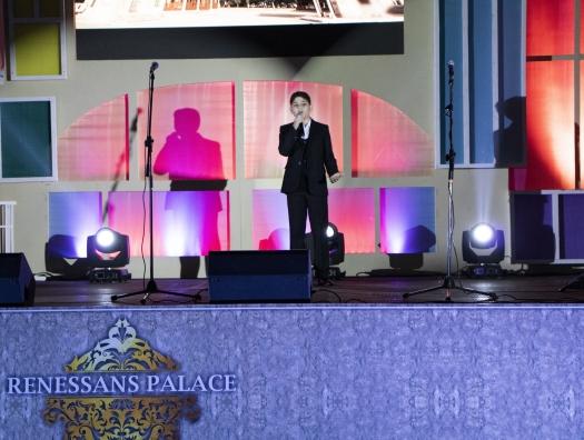 Renessans Palace организовал концерт «Мой дом,... моя Родина»