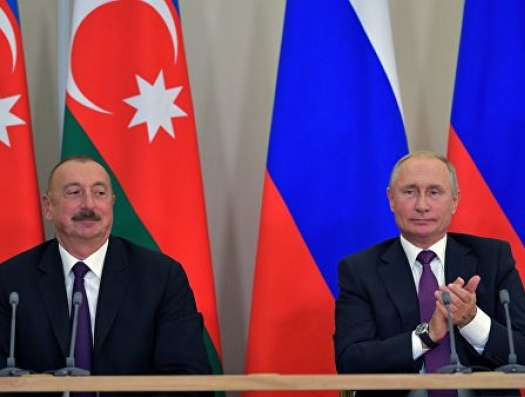 Волна Ильхама Алиева и Владимира Путина