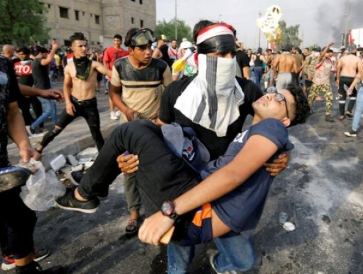 Вот революция охватила и Ирак