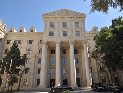 МИД о «реставрации» армянами мечети в оккупированной Шуше