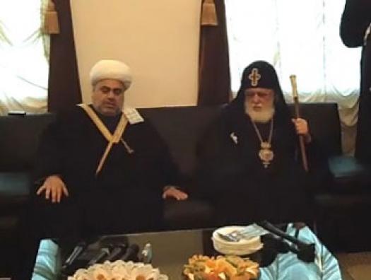 """Патриарх Грузии написал жесткое письмо Аллахшукюру Пашазаде: """"Верните доступ к Кешикчидаг"""""""