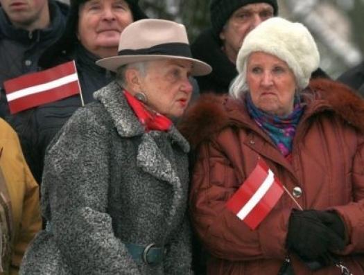 В Латвии минимальная пенсия в два раза меньше, чем в Азербайджане