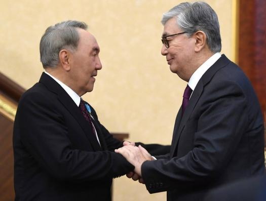 Токаев бросил первый камень в оГород Назарбаева