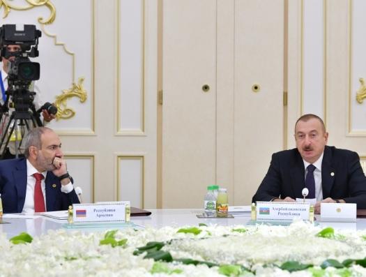Ильхам Алиев напомнил лидерам СНГ о героизации фашизма в Армении
