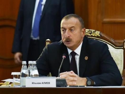 Ильхам Алиев заговорил о передаче Зангезура Армении