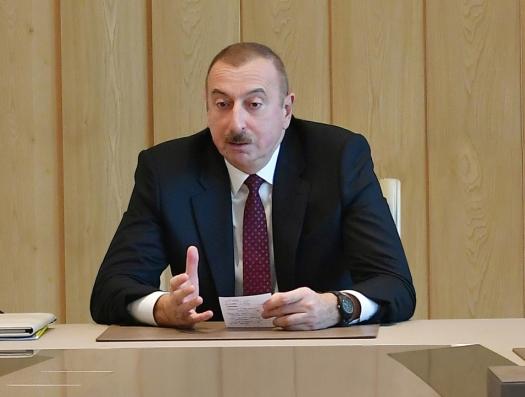 Ильхам Алиев: «В Минналогов была позорная ситуация»