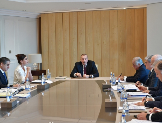 Президент рассказал о миссии Али Асадова